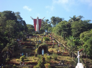 A typical garden in the Philippines